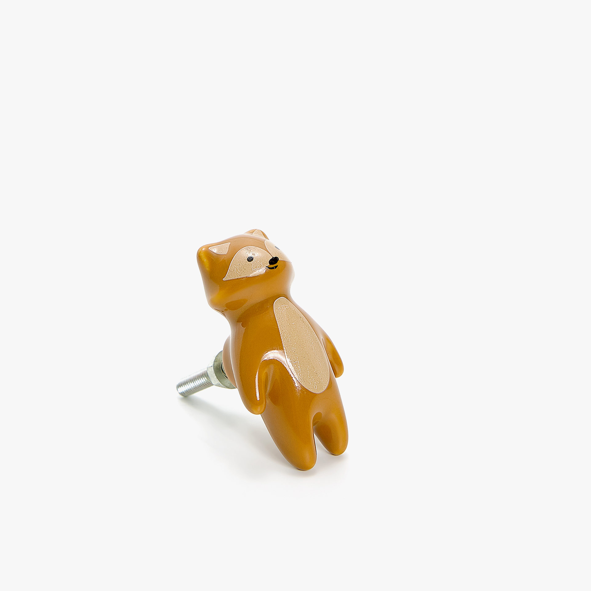 FOX SHAPED DOOR KNOB (PACK OF 2)