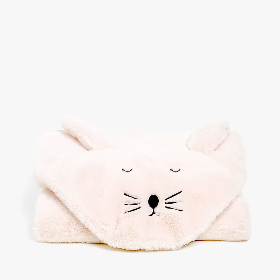 BUNNY-SHAPED BLANKET