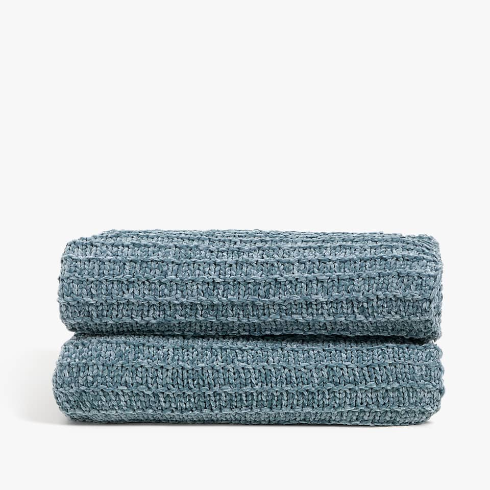 COUVERTURE POINT CHENILLE