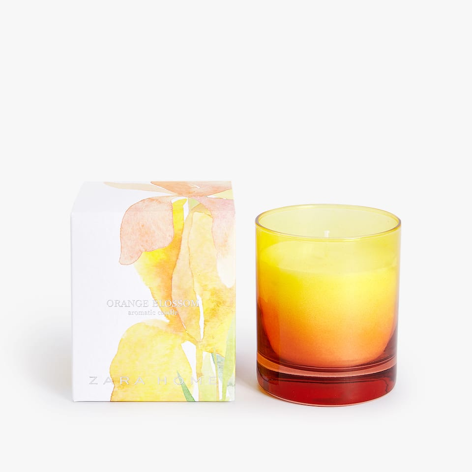 BOUGIE AROMATIQUE ORANGE BLOSSOM
