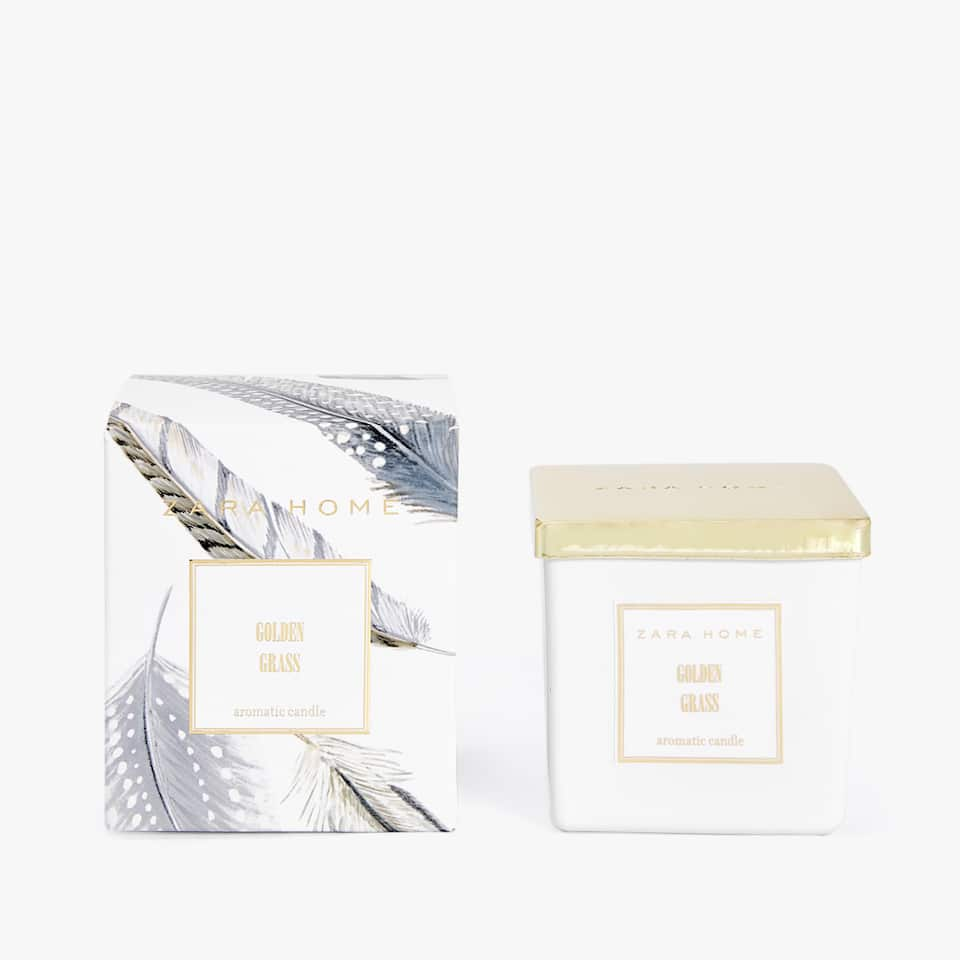 BOUGIE AROMATIQUE GOLDEN GRASS