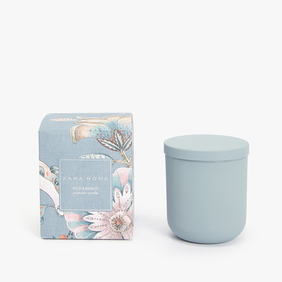 WILD BAMBOO AROMATIC CANDLE