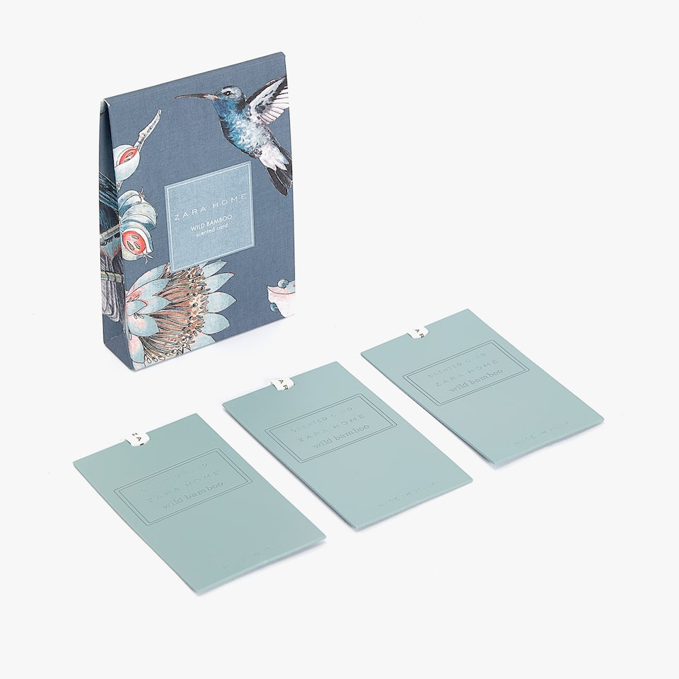 WILD BAMBOO SCENTED CARDS