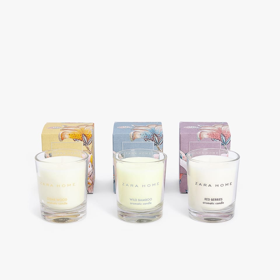 MINI-BOUGIES COLLECTION (LOT DE 3)