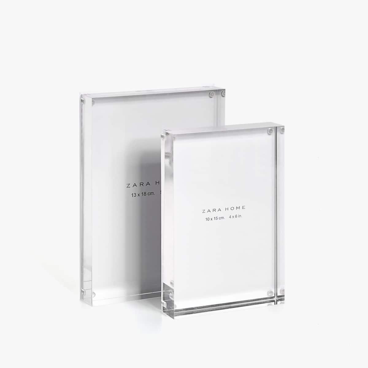 Rahmen aus Acrylglas - FOTO IM FORMAT 10 X 15 CM - BILDERRAHMEN ...