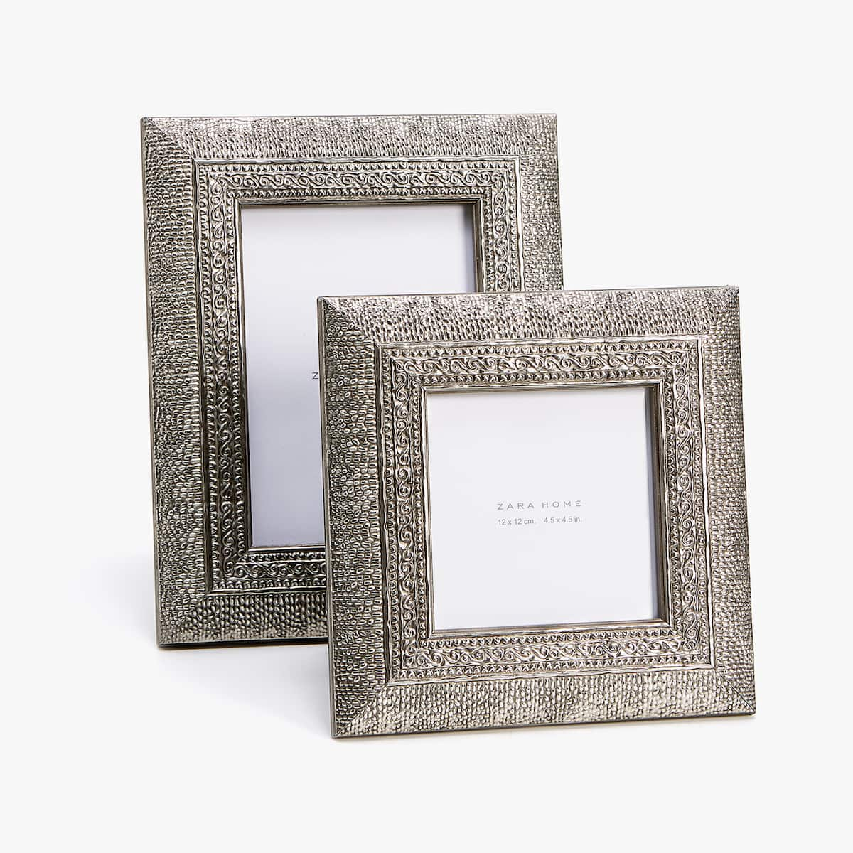 METAL DESIGN WOODEN FRAME - PHOTO SIZE 5x7 in. - PHOTO FRAMES ...