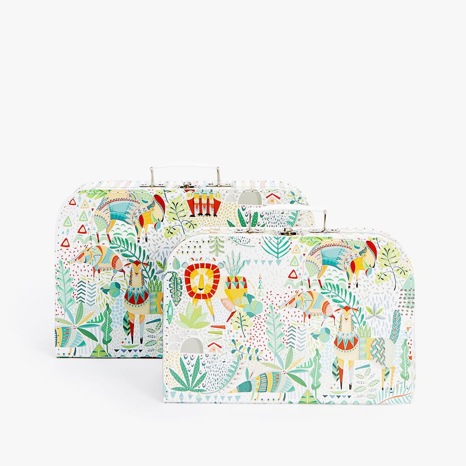JUNGLE ANIMAL BRIEFCASE