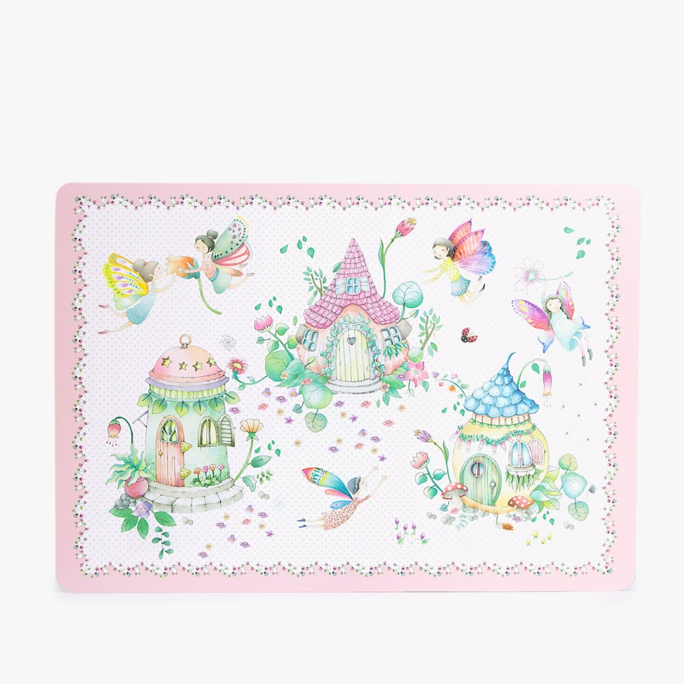 FAIRYTALE HOUSE PLACEMAT