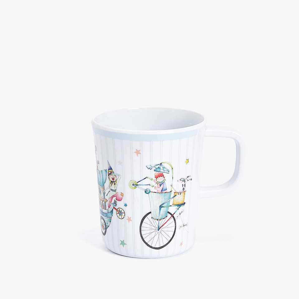 MUG IN MELAMINA FANTASIA INVENTORI