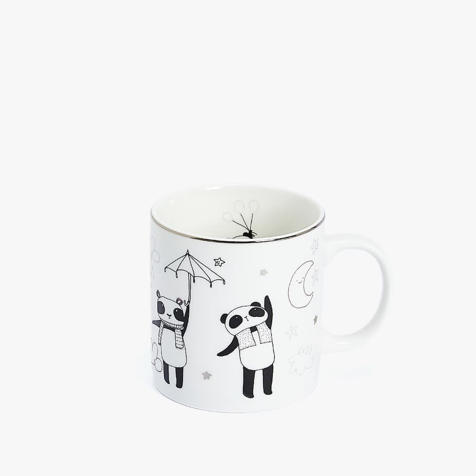 MUG IN PORCELLANA CON PANDA