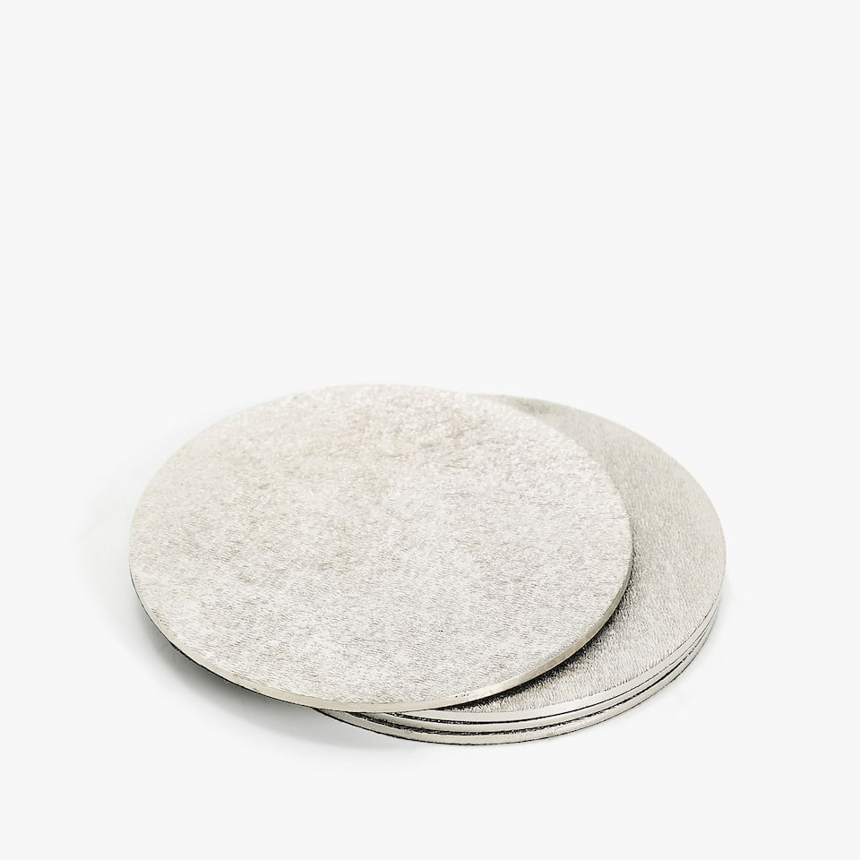 CORAL TEXTURE COASTER (PACK OF 4)