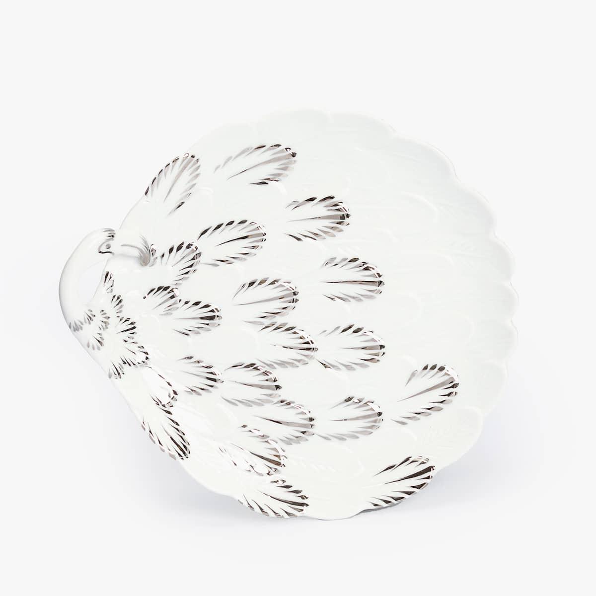Creer Salle De Bain Dans Une Chambre ~ Assiette Dessert Porcelaine Flamant Rose Accessoires De Table
