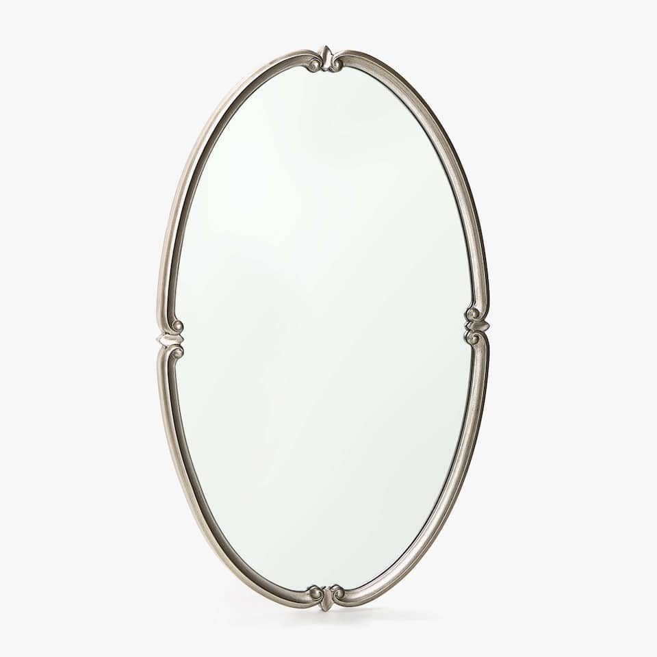 OVAL FRAME MIRROR