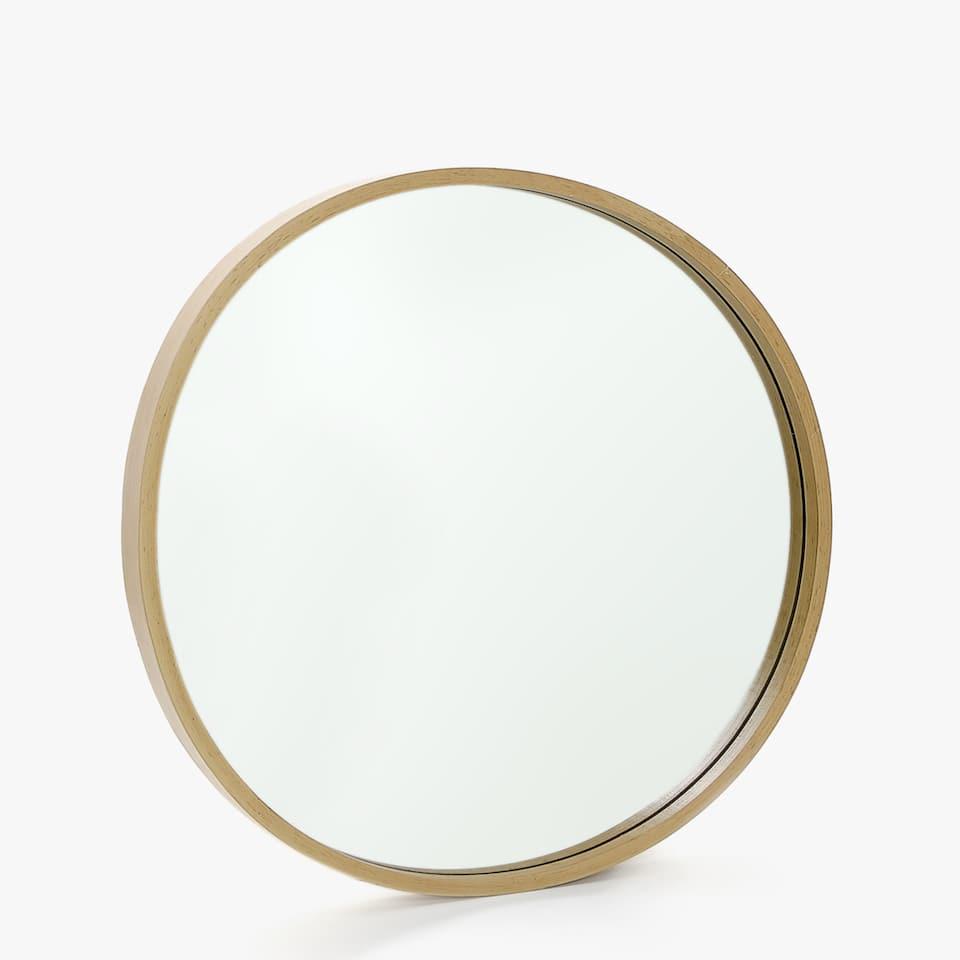 Espejos decorativos zara home for Espejo redondo grande