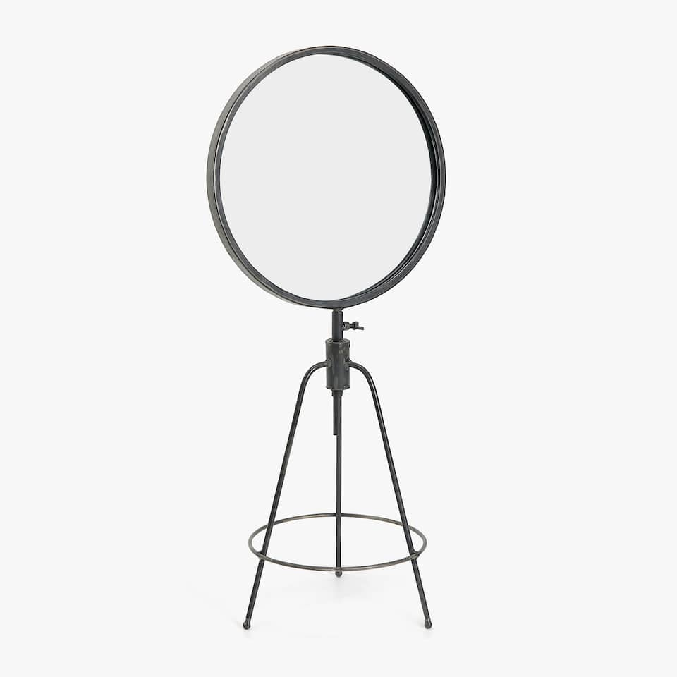 TRIPOD STAND-UP MIRROR
