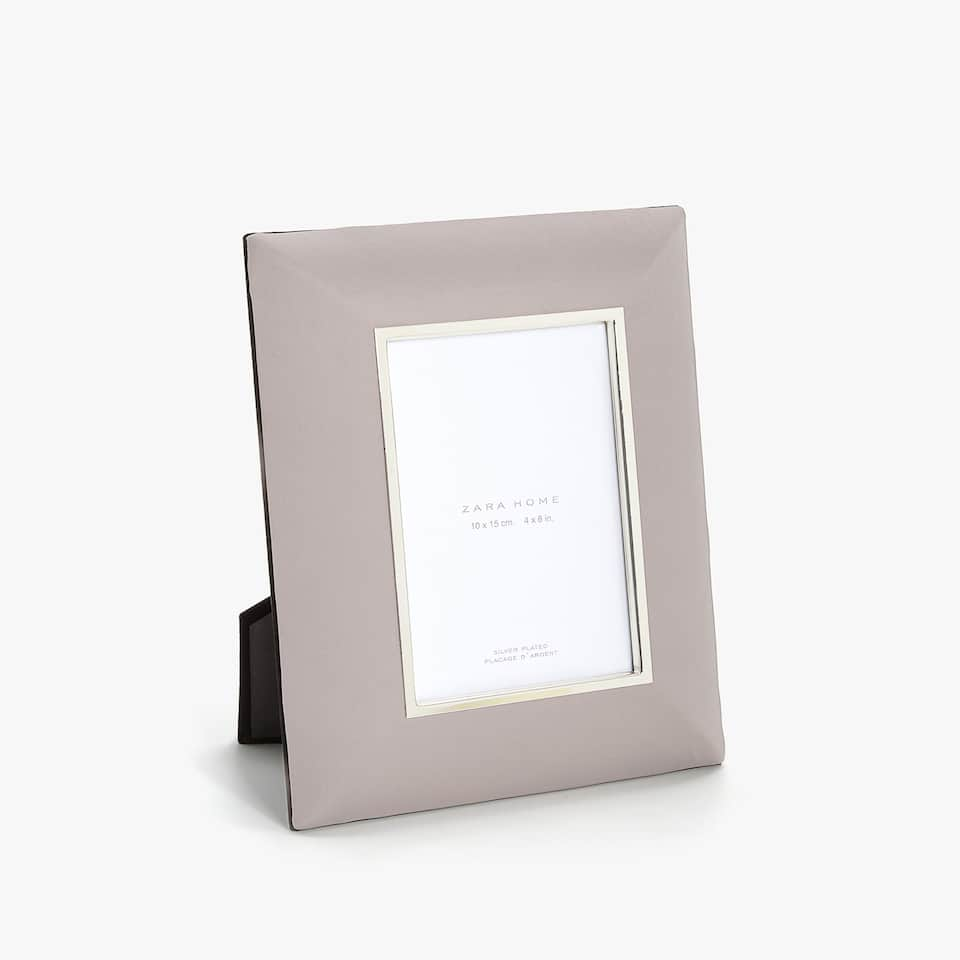 GREY FABRIC FRAME
