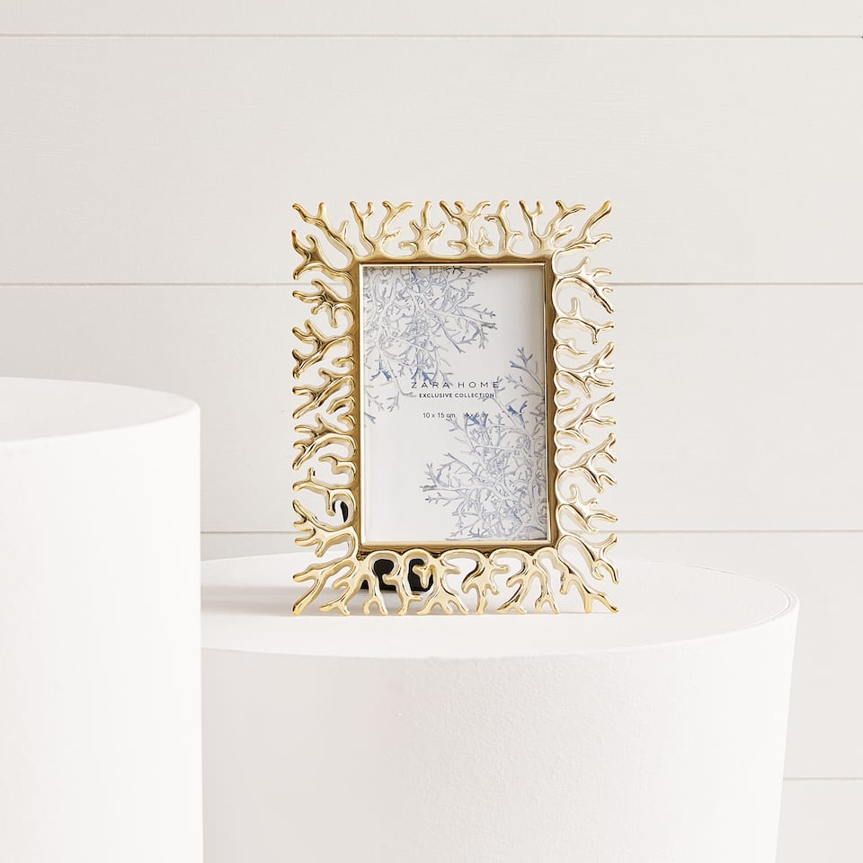 SPECIAL COLLECTION CORAL PHOTO FRAME