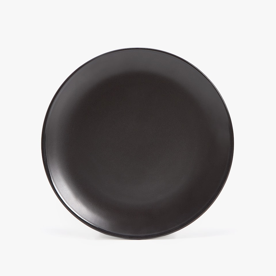 MATTE EARTHENWARE DINNER PLATE