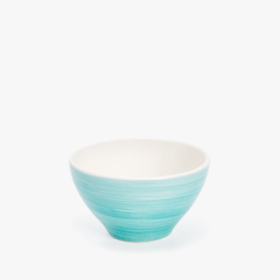CHINA MINI BOWL WITH A SPIRAL DESIGN