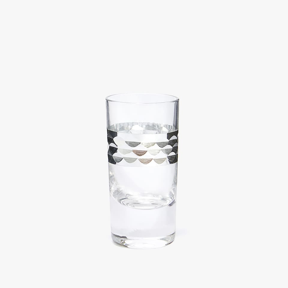 SILVER SHOT GLASS (PACK OF 3)
