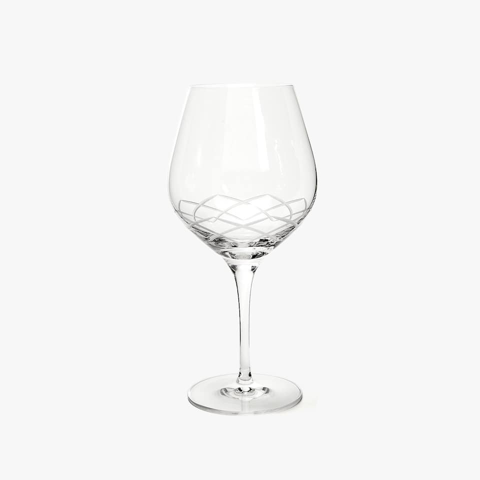 LOTUS FLOWER WINE GLASS