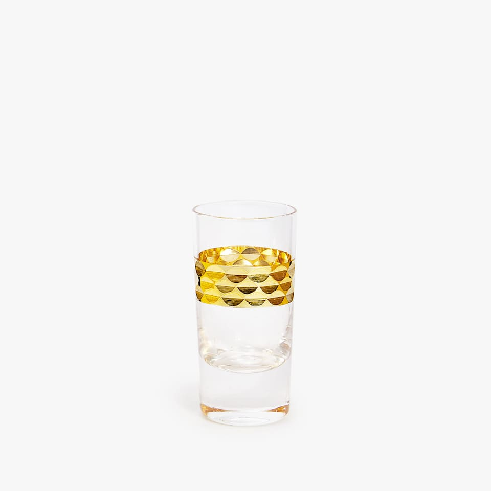 GOLDEN SHOT GLASS (PACK OF 3)