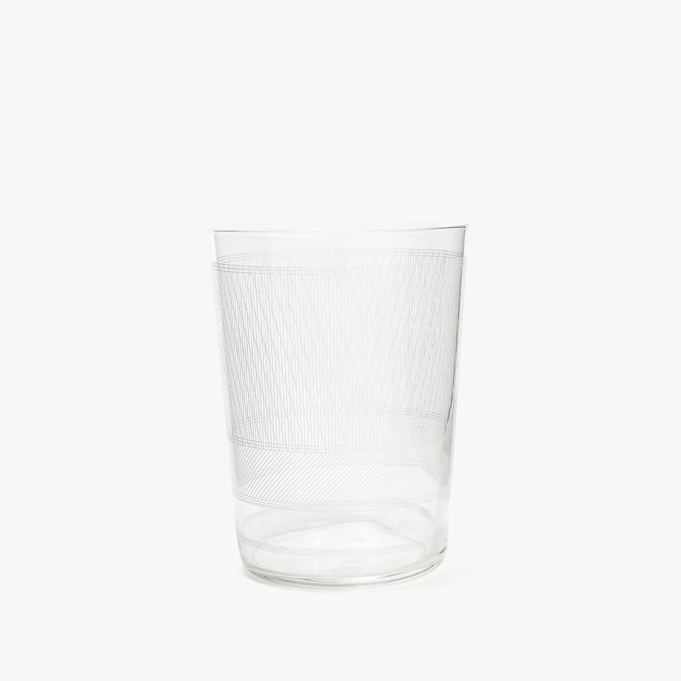 GEOMETRIC SOFT DRINK TUMBLER