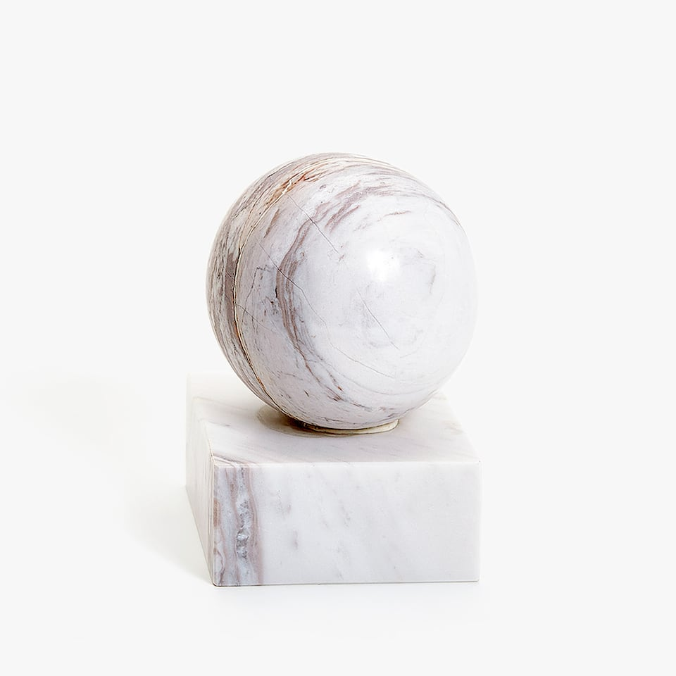 DECORATIVE MARBLE PIECE