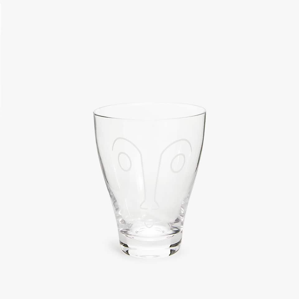 FACE GLASS TUMBLER