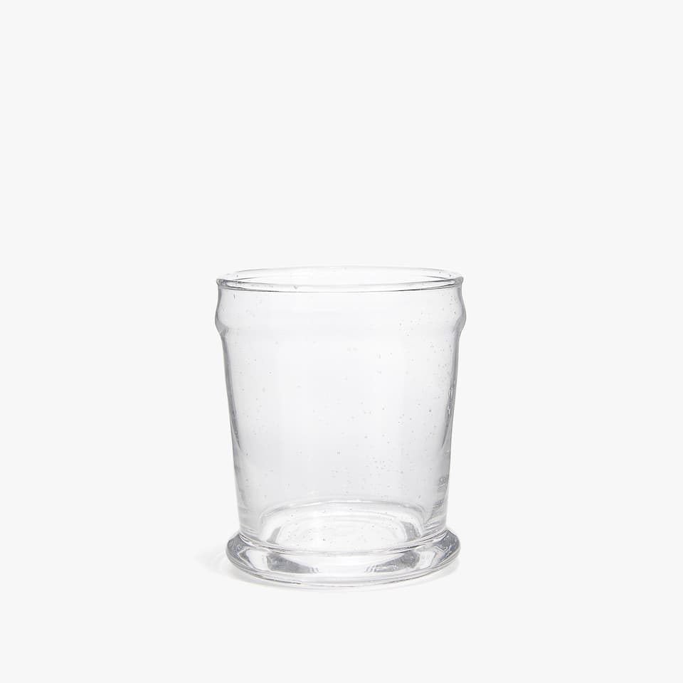 BUBBLES GLASS TUMBLER