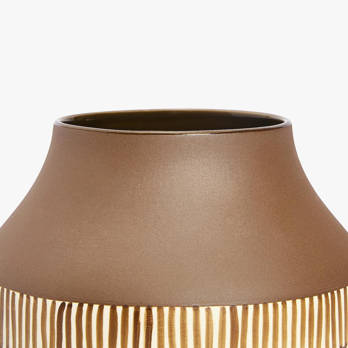 Printed base ceramic vase vases decoration zara home indonesia image stopboris Images