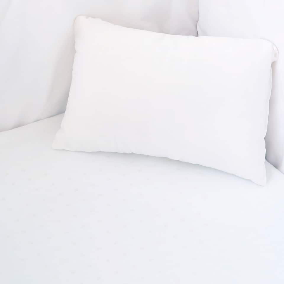 PERCALE COTTON MINI CRIB BOTTOM SHEET (PACK OF 2)