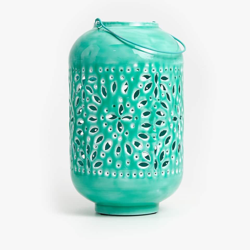 Enamelled lantern