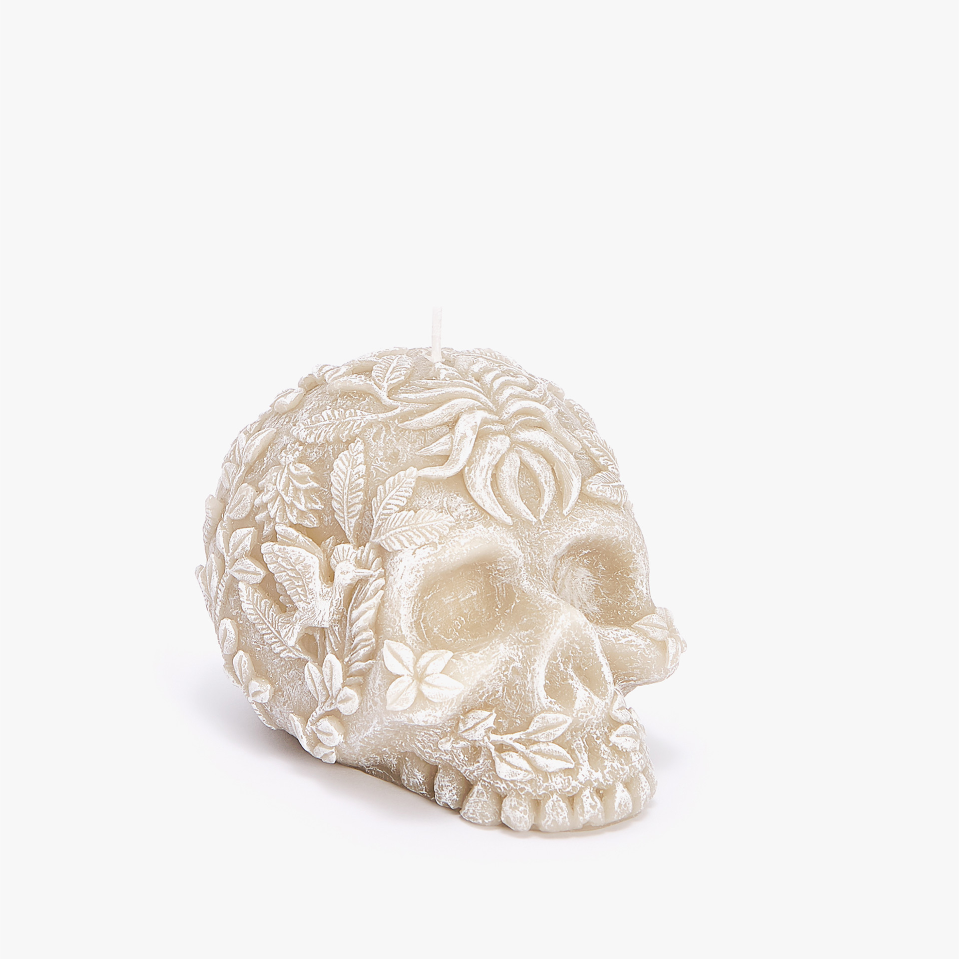 SKULL-SHAPED CANDLE