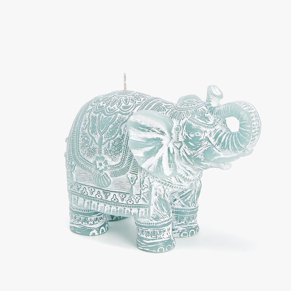 ELEPHANT-SHAPED CANDLE