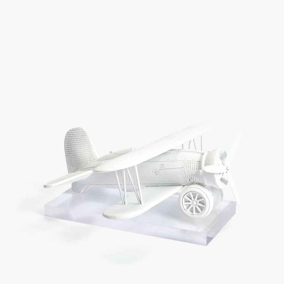 FIGURA DECORATIVA AVIONETA KIDS