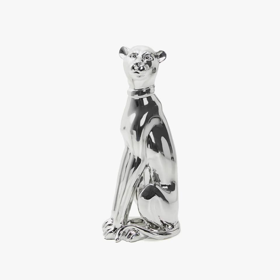 DECORATIVE PANTHER FIGURE