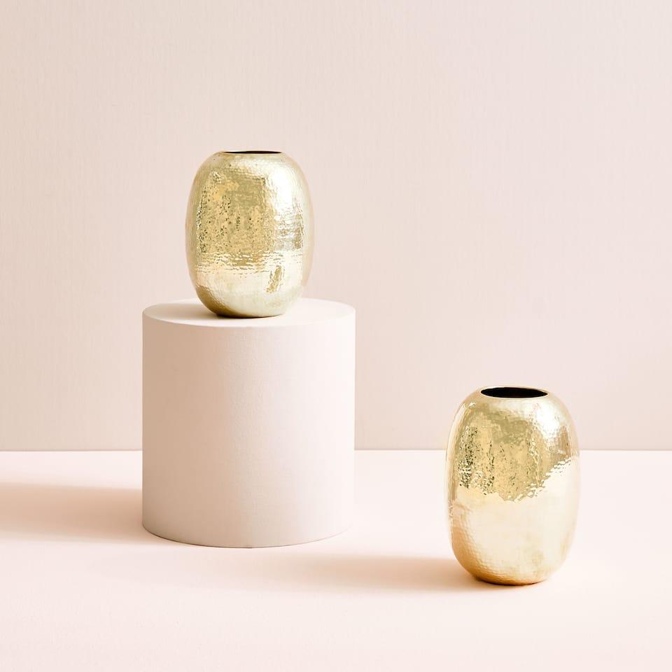Hammered vase