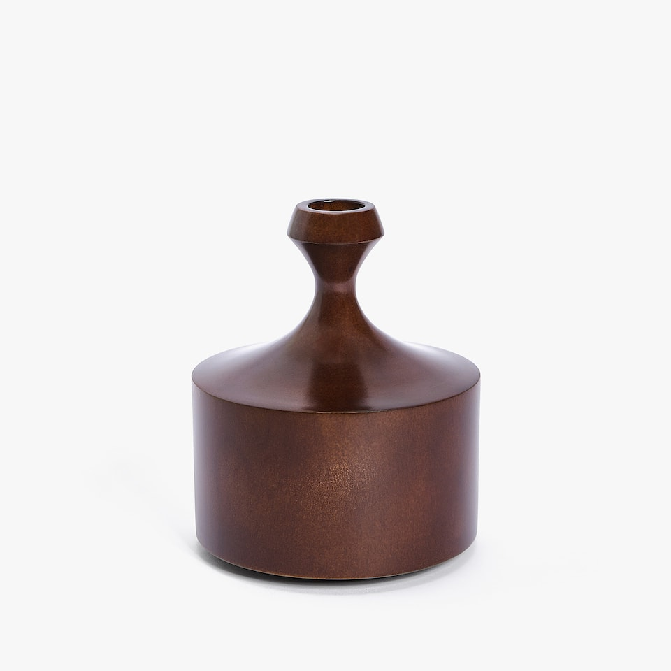 DECORATIVE WOODEN BOTTLE