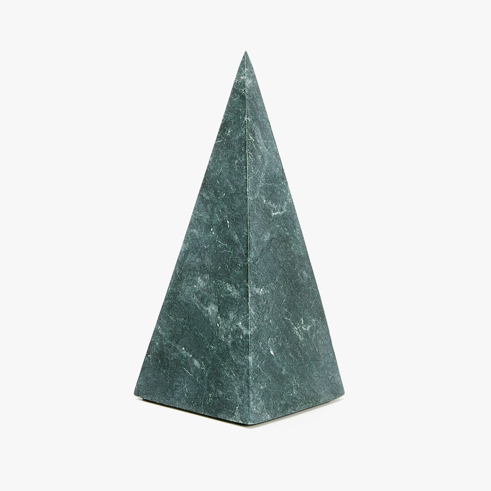 DECORATIVE MARBLE PYRAMID