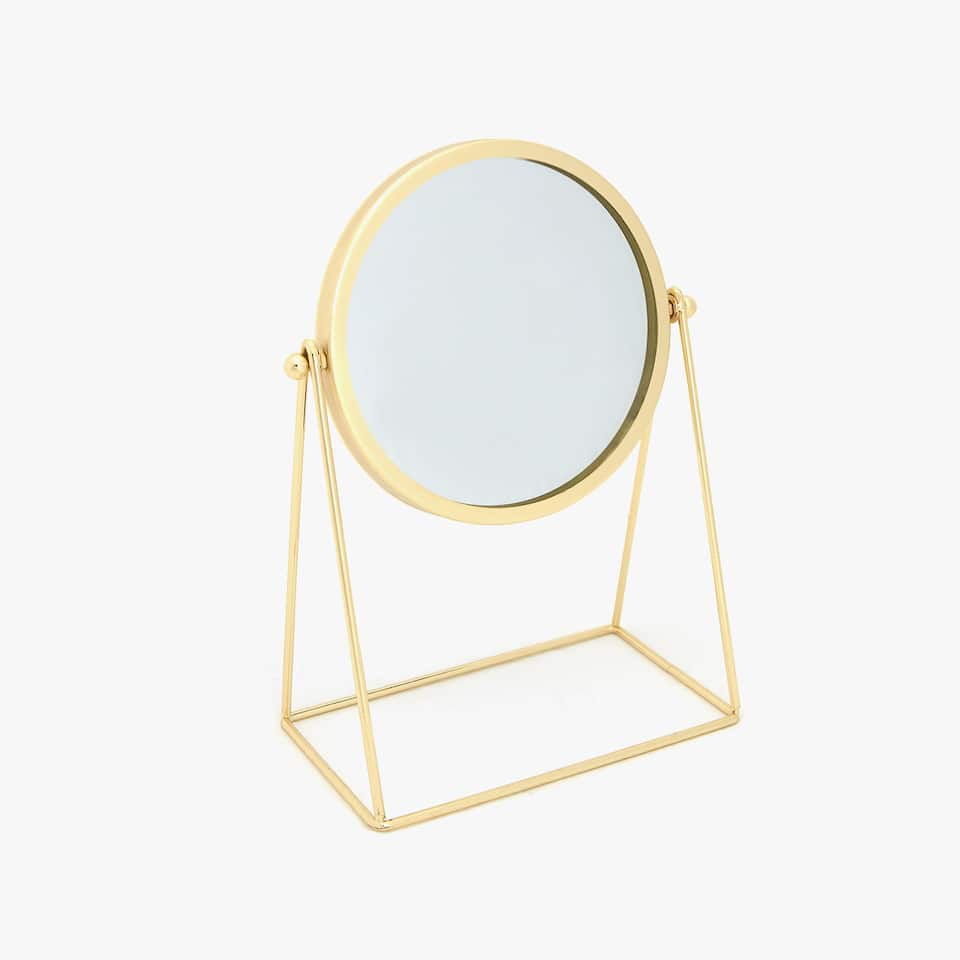 GOLDEN METALLIC MIRROR