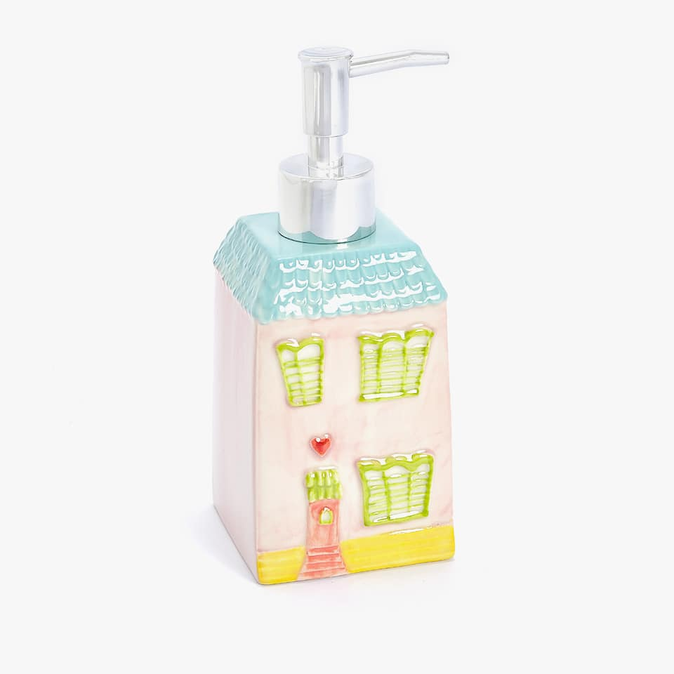 HOUSE-SHAPED CERAMIC DISPENSER