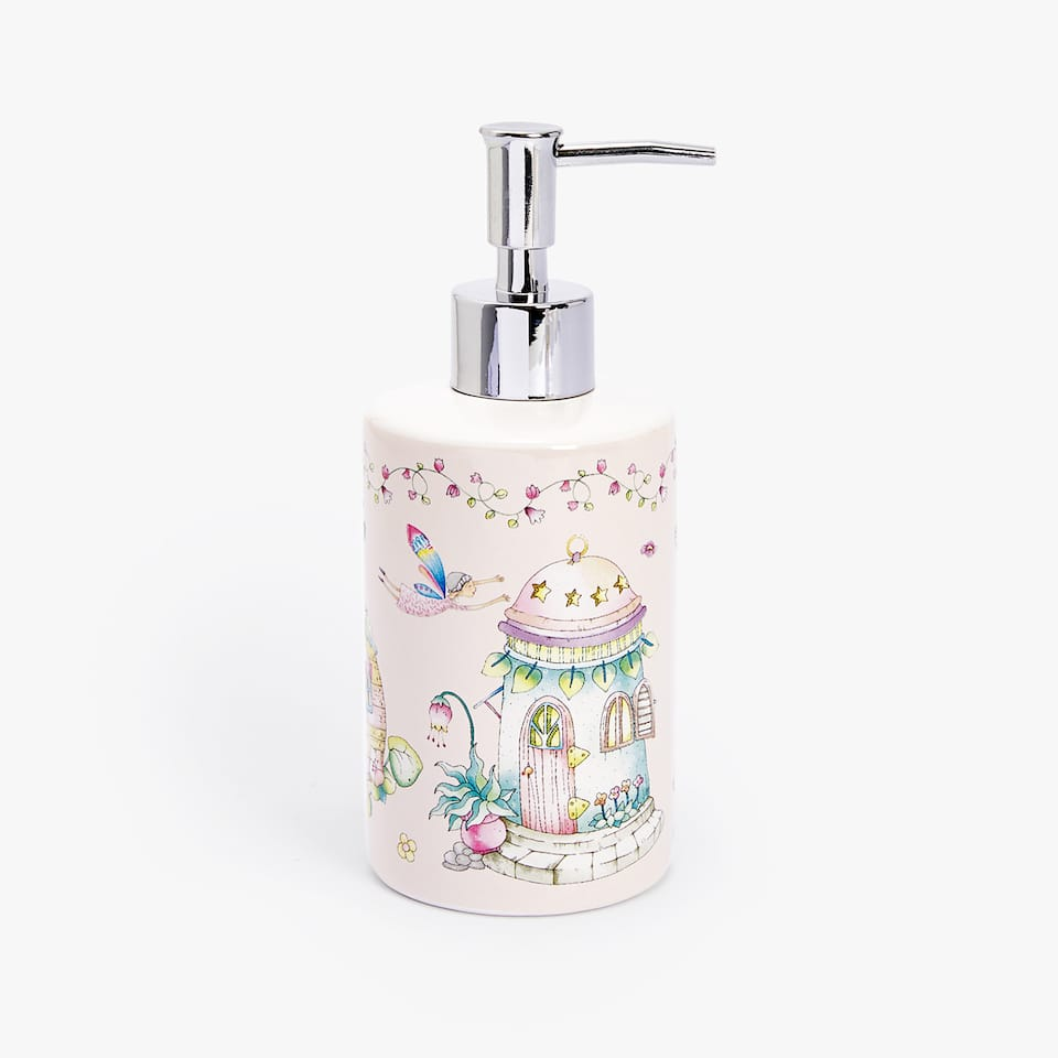 FAIRIES PATTERN CERAMIC DISPENSER