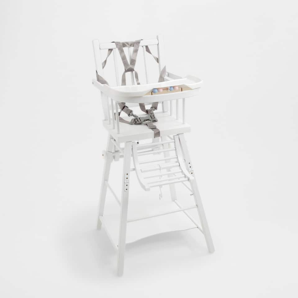 COVERTIBLE HIGH CHAIR