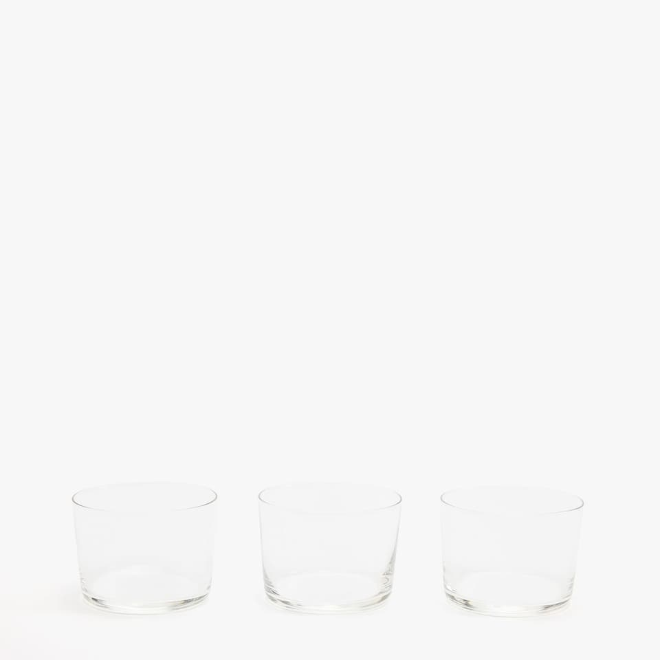 GLASS TUMBLER (PACK OF 3)