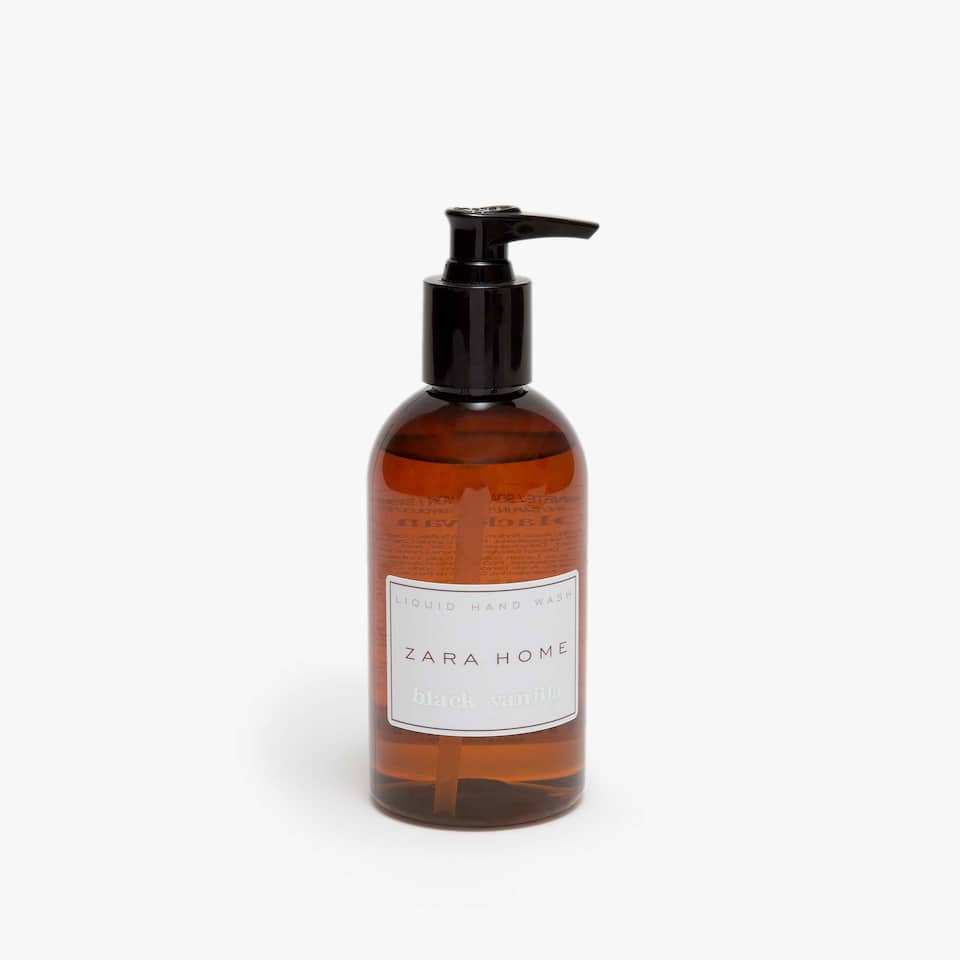 BLACK VANILLA LIQUID HAND SOAP (8.45 oz)