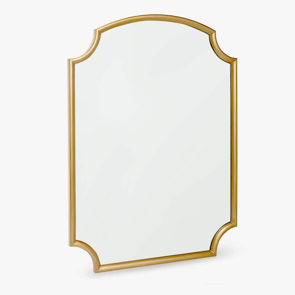 MIRROR WITH ROUNDED EDGES