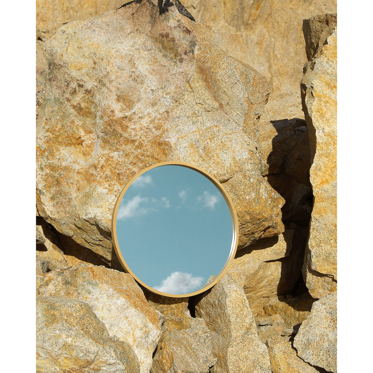 LARGE ROUND WOODEN MIRROR - MIRRORS - DECORATION | Zara Home United ...