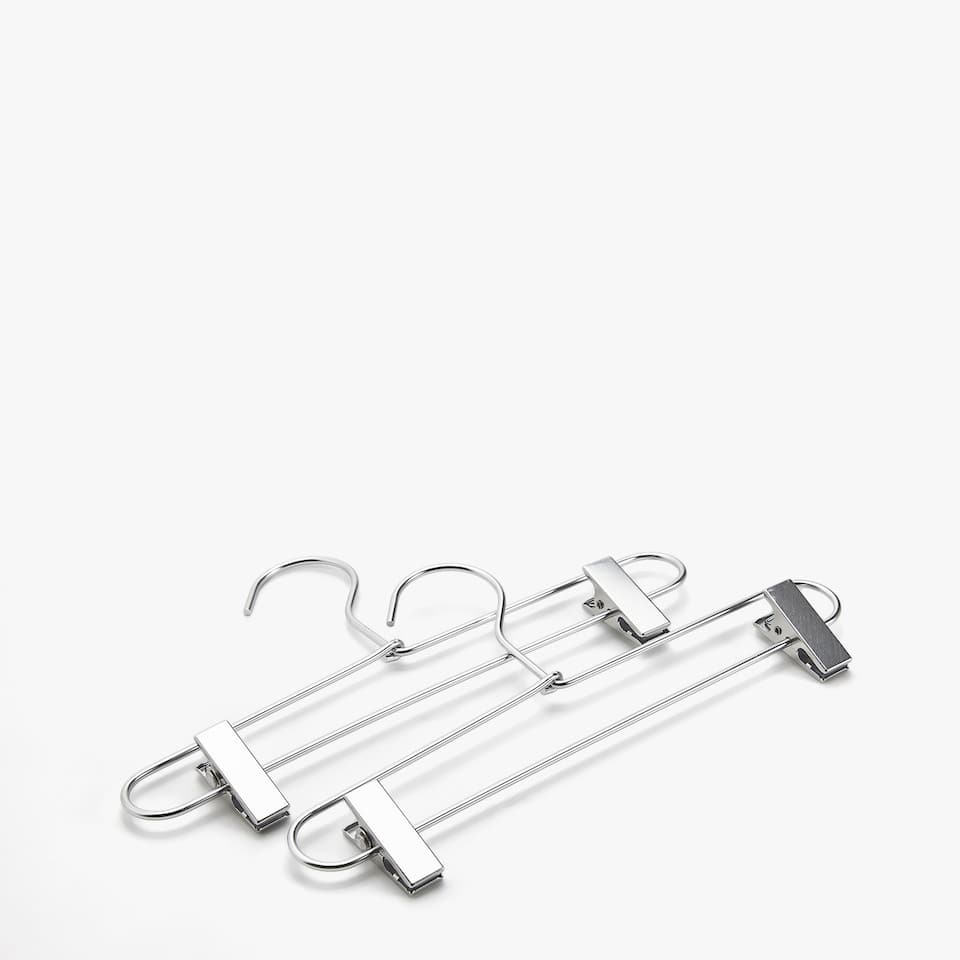 METAL SKIRT HANGER (SET OF 2)