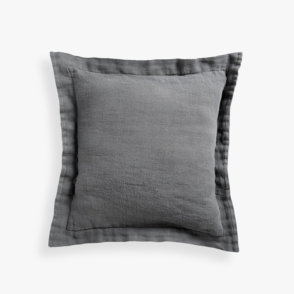 FLOWING LINEN CUSHION COVER